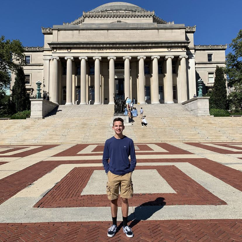 Junior Christopher Perez Accepted into Columbia University Science Honors Program