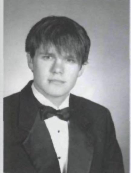 Mr. Cornelius Van Ess in his senior year at PV; from The Valley Green