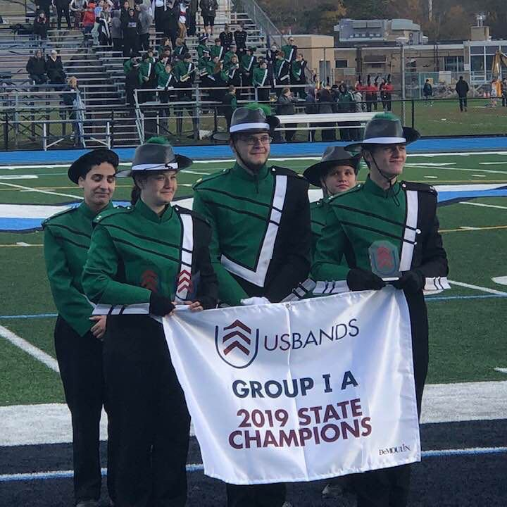Marching Band Takes Home First Place at State Championship