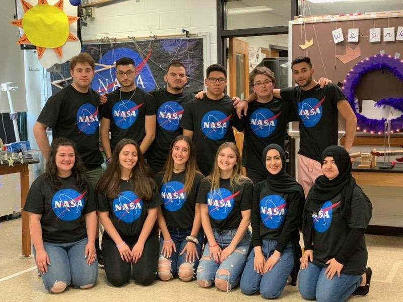 NASA group photo; photo credit:  Hailey Raimo