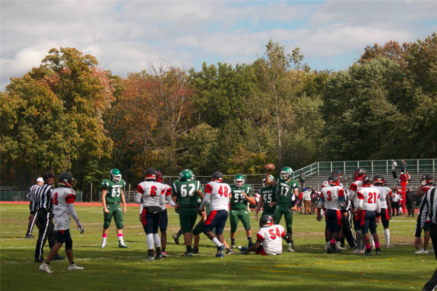 Passaic Valley Hornets in action; photo credit: @pv1940 on Facebook