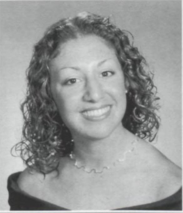 Diana Pasquariello in her senior year at PV; from The Valley Green