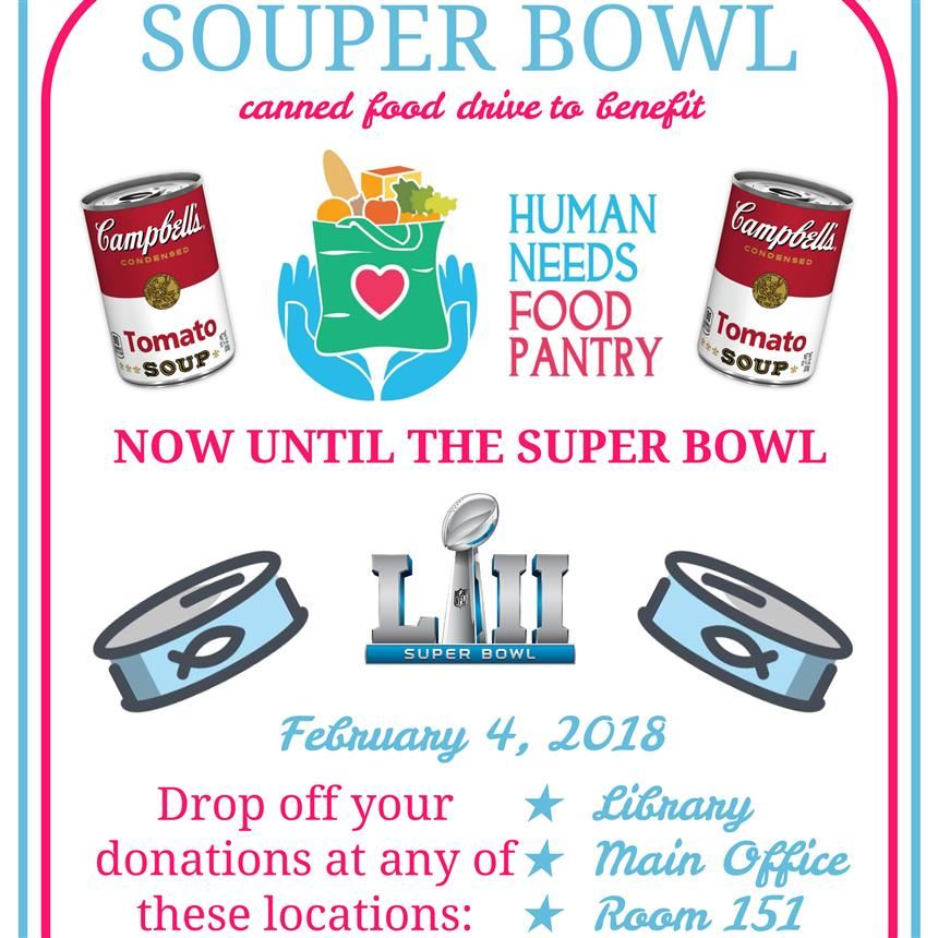 Souper Bowl flyer