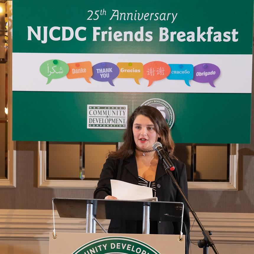 [Updated with Footage from PVTV] Teen Center Presented with NJCDC Award by Former Hornet Maria Hoffman
