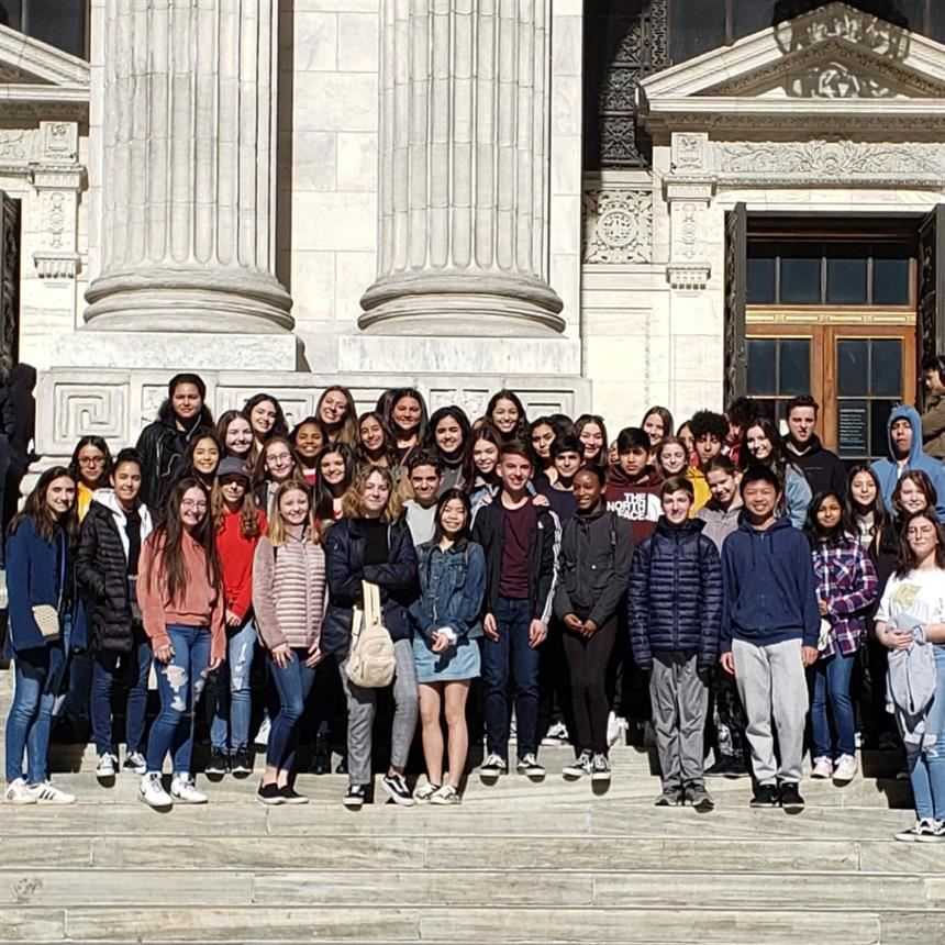 World History Honors Field Trip; photo credit: Ms. Menake