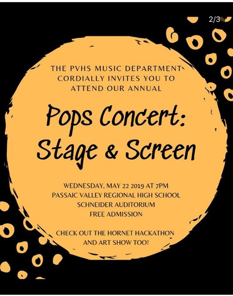 Band And Choir Take a Modern Spin for Annual Pops Concert, Wednesday May 22nd