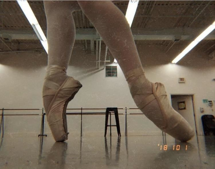 Skylar's Pointe Shoes; photo credit: Sophia Shkolnikova