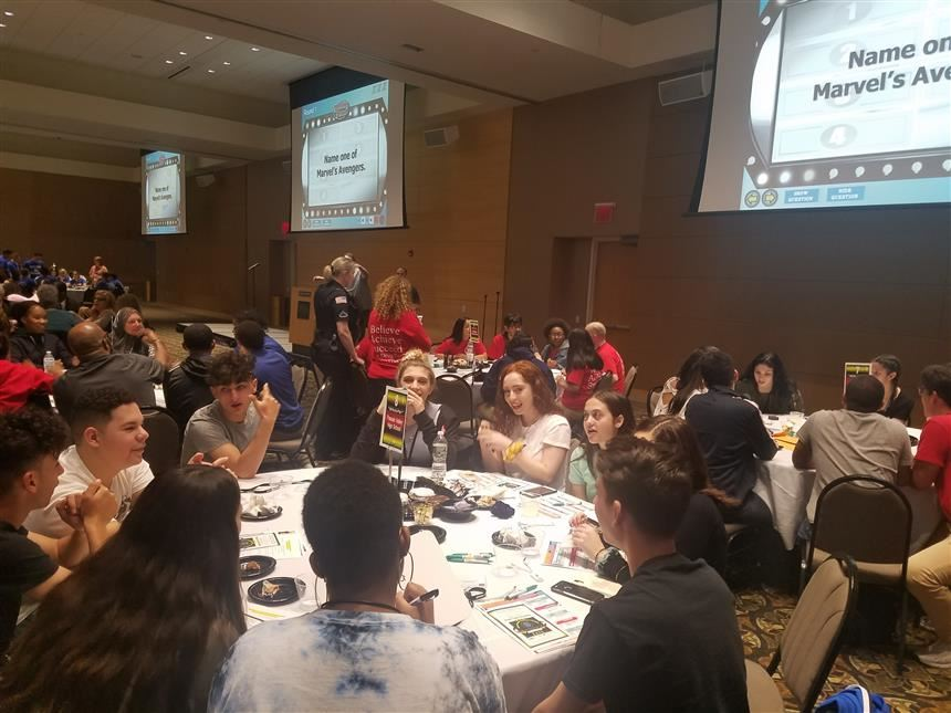 Students at Spring Teen Summit 2019