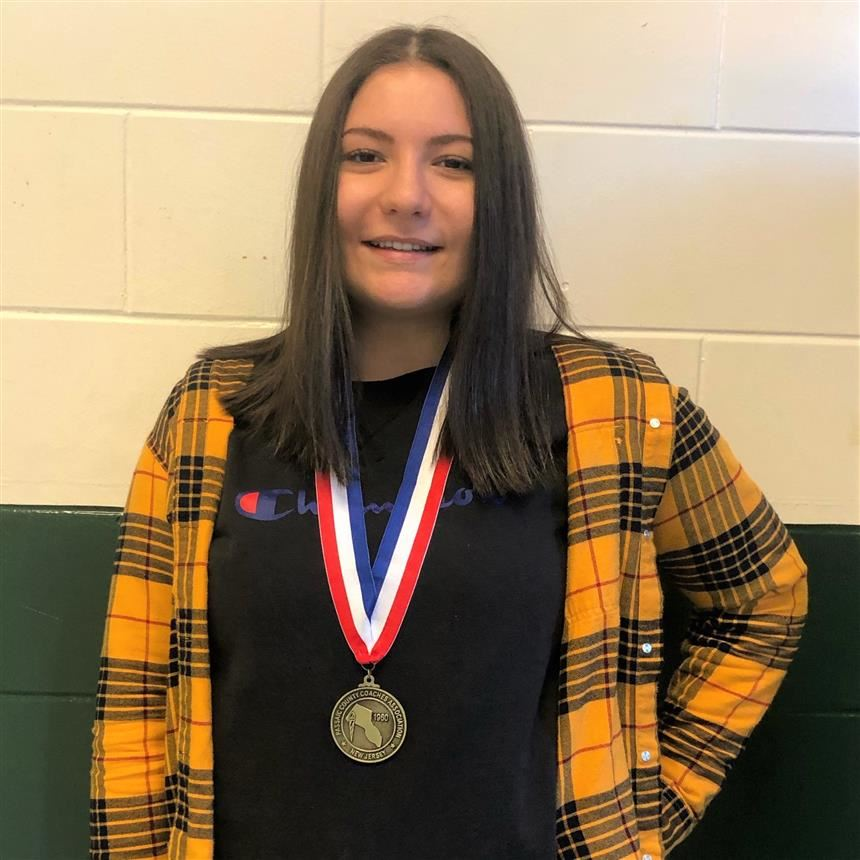 Senior Christie Ack Becomes First Fencing Champion at PV