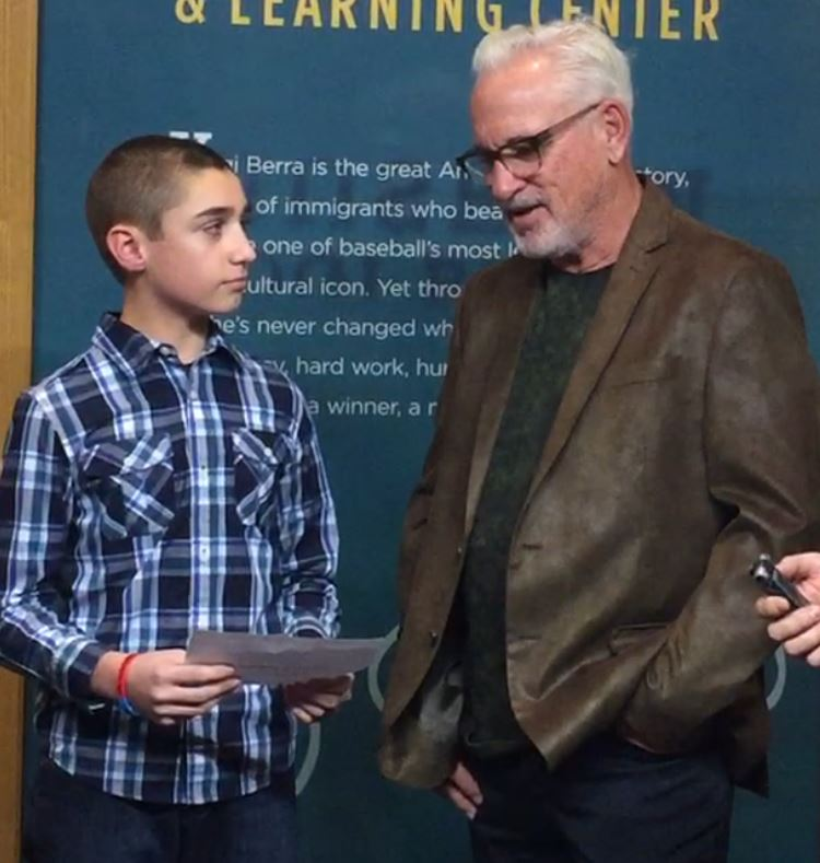 Billy Pinckney '20 interviews Joe Maddon, manager of the World Series Champion Chicago Cubs