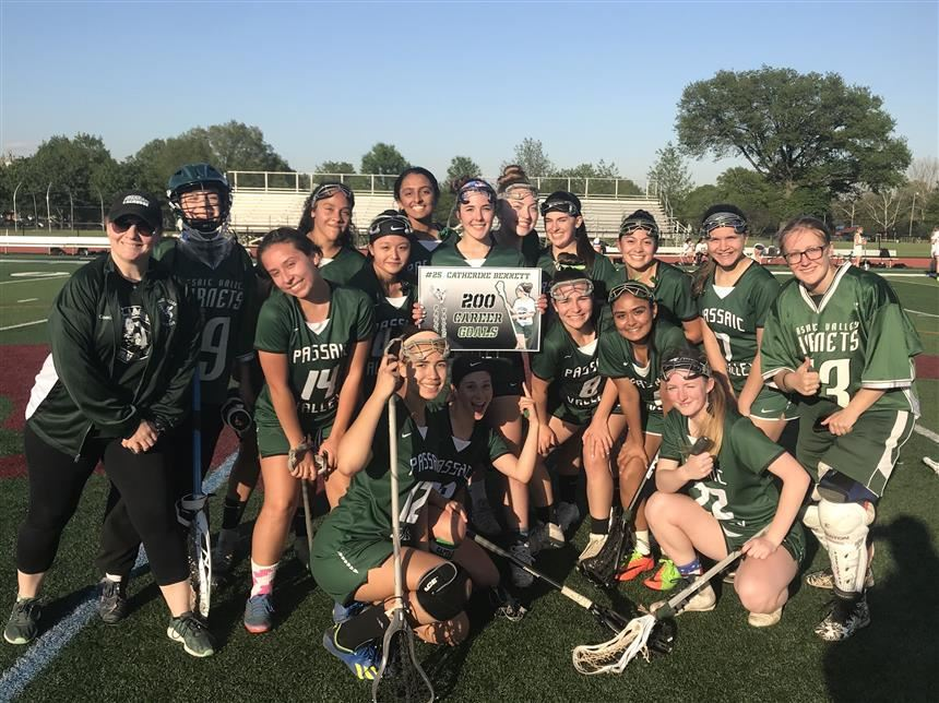 Bennett Scores 200th Goal with Team; photo credit: Ms. Lori Demsey