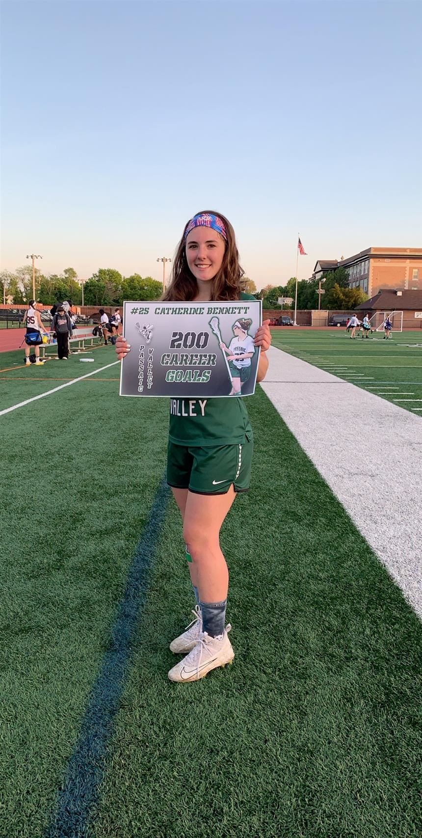 Bennett Scores 200 Career Goals; photo credit: Ms. Lori Demsey