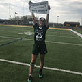 Cat Bennett Scores 100th Career Lax Goal
