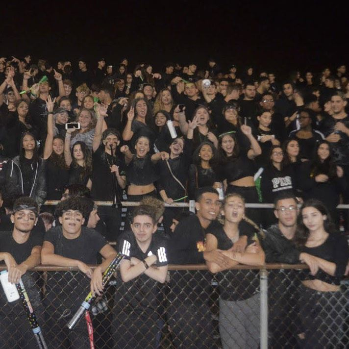 New Student Section, The Swarm, Allows Hornets to Display PV Pride