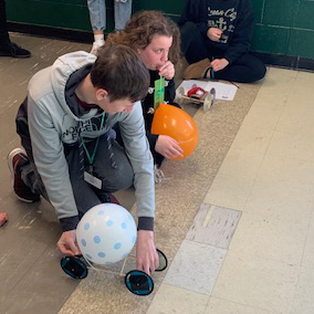 Annual Balloon Car Competition Introduces More Innovative Designs