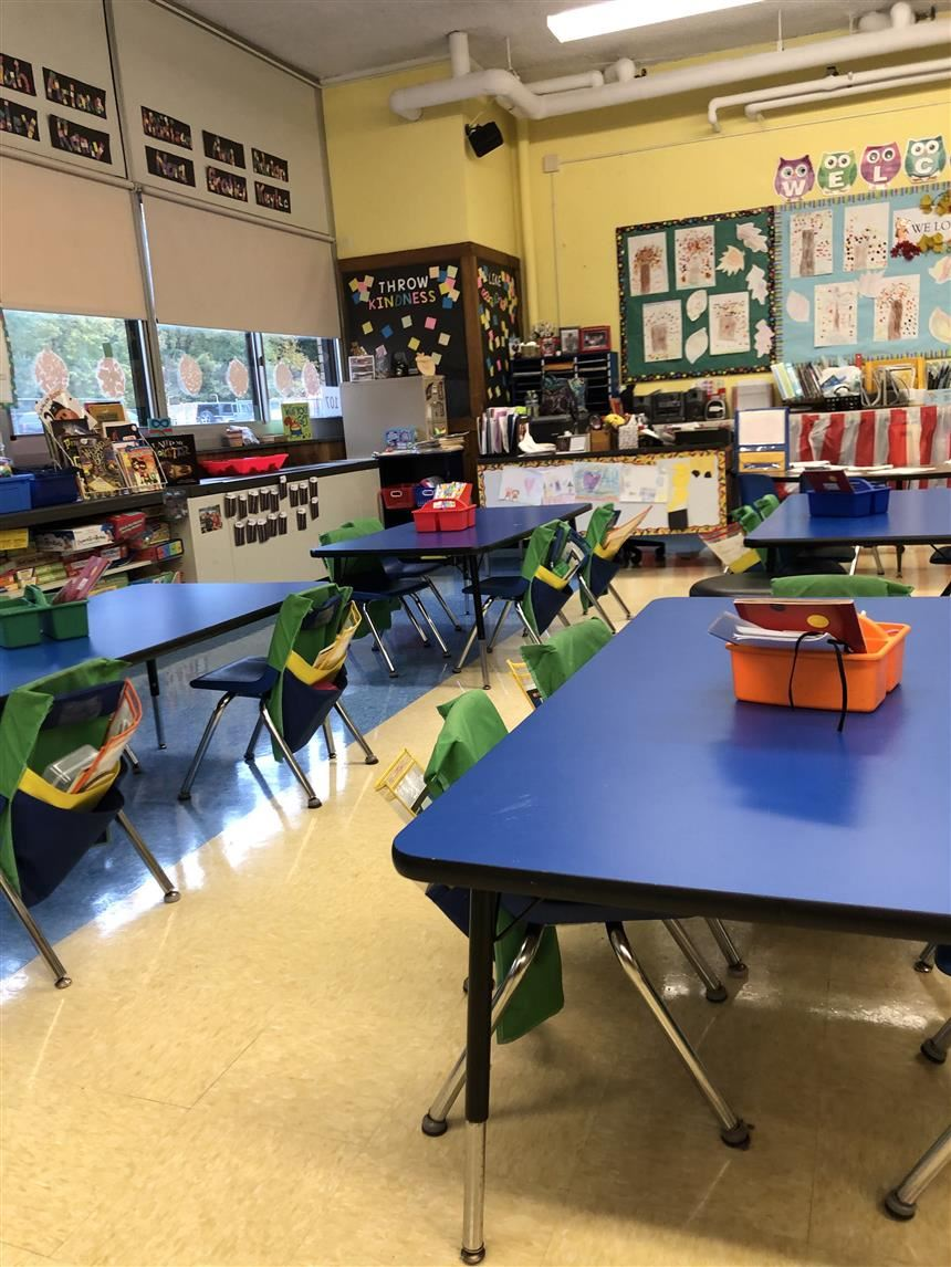 Kindergarten classroom; photo credit: Taylor Capers