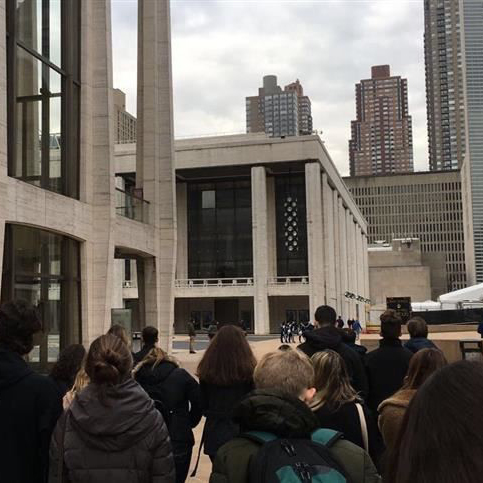 Italian Field Trip to the Metropolitan Opera Allows Students to Celebrate Culture