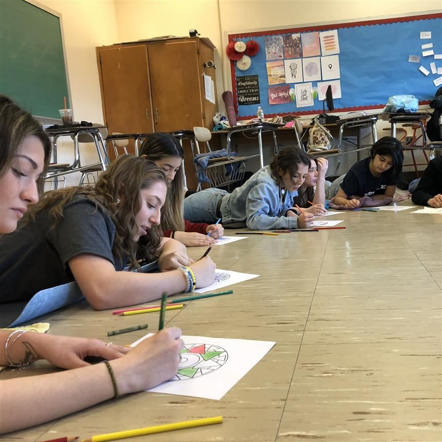 Mindfulness in School:  Stretching Towards AP Testing