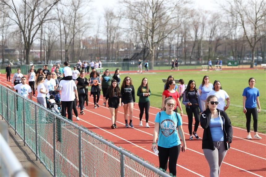 Autism Walk attendees; photo credit:  Rae Allex