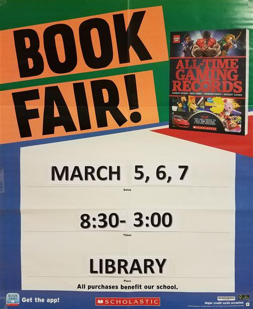 scholastic book fair flyer spring 2018