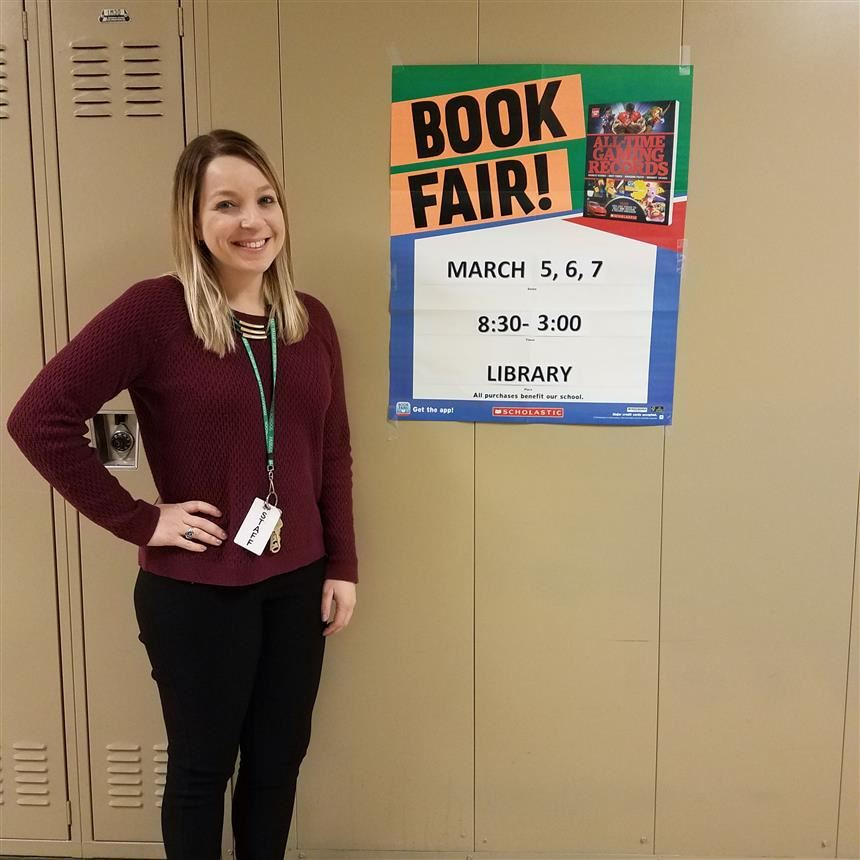 Scholastic Spring Book Fair Coming to PV March 5-7th