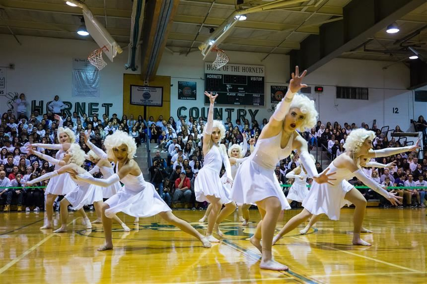 Green Dance as Marilyn Monroe