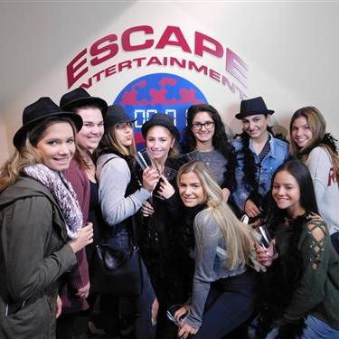 Girls' group at Escape Entertainment