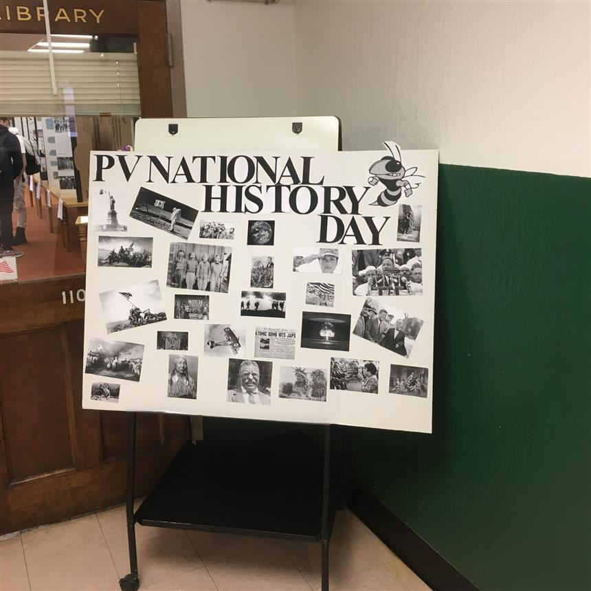 PV Hosts First National History Day in Library