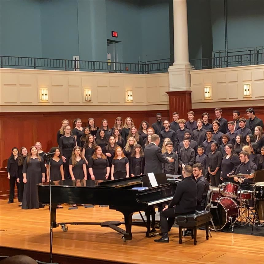 Nine Students Perform at TCNJ Honors Festival for First Time