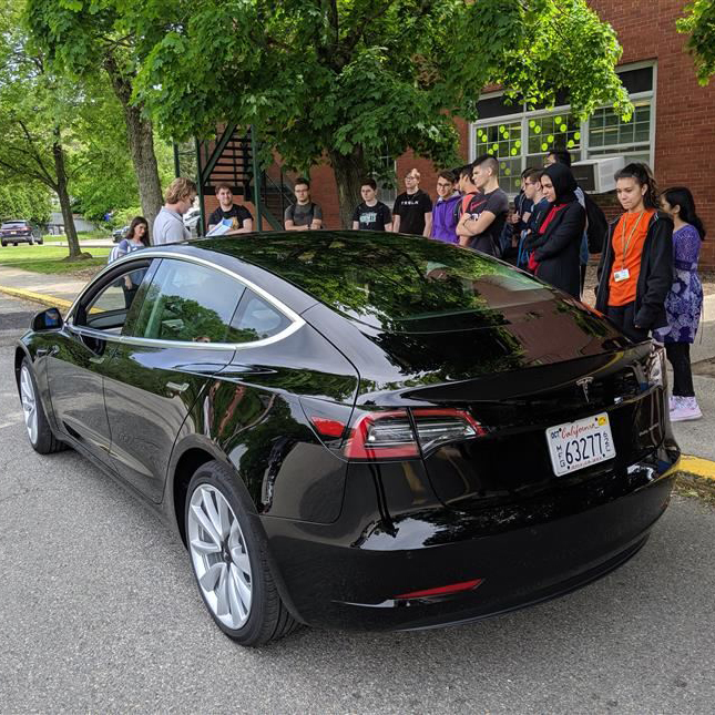 Environmental Club Hosts Tesla Presentation
