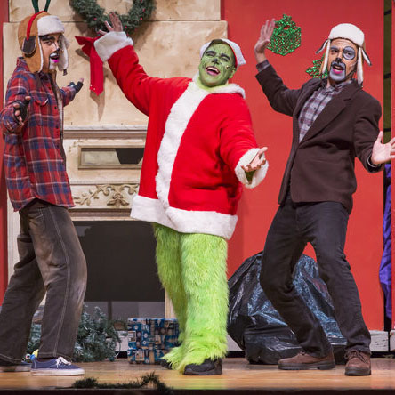 Winter Musical Review:  Javier Tovar Steals Show as Greedy 'Grinch'