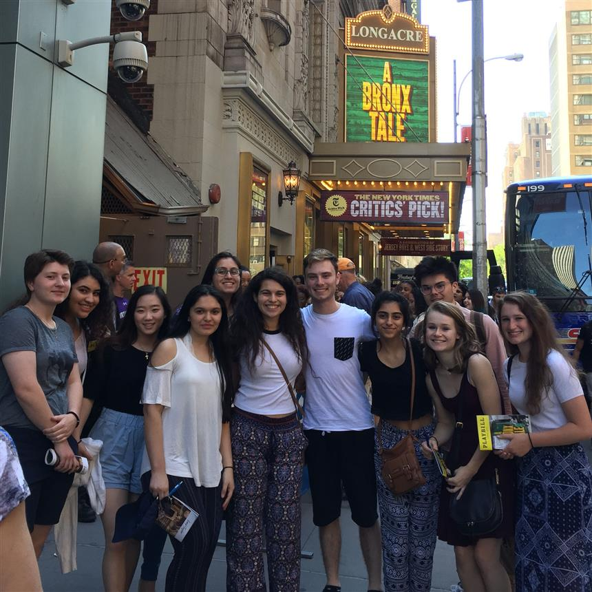 AP English Students Go on a Well Deserved Trip