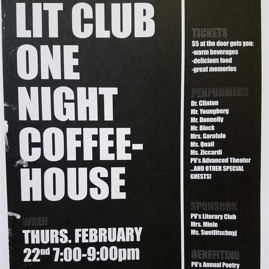 Coffeehouse promo
