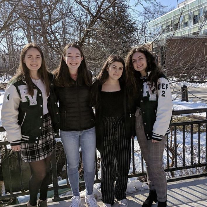 Participating sophomores at Kean University; photo courtesy of @pvhssuper on Instagram