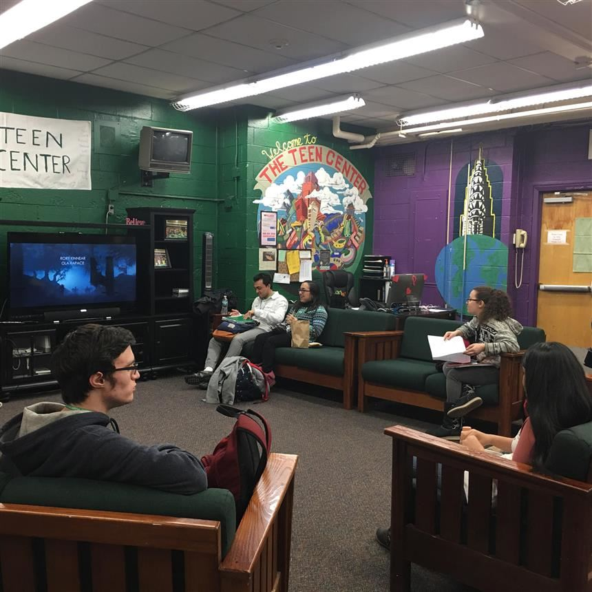 Teen Center; Photo credit:  Franchesca Livraghi '18