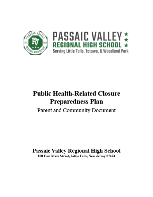 Public Health-Related Closure Preparedness Plan